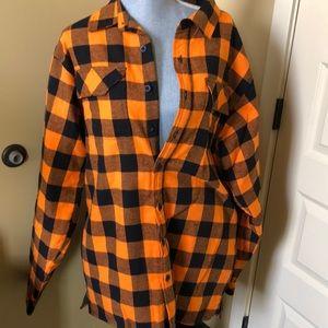 Legendary Whitetails flannel shirt jacket men's LT